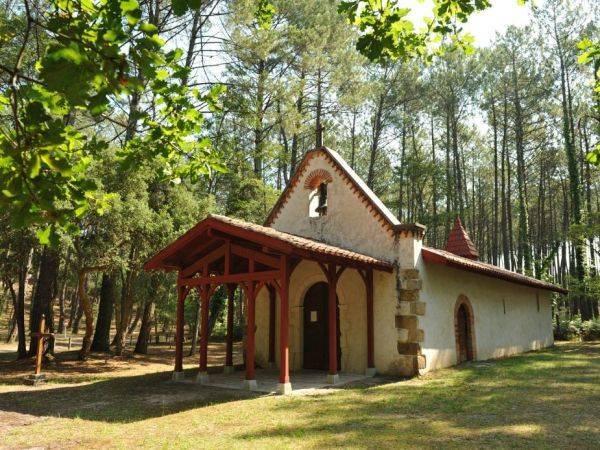 Chapelle dite des Templiers, à Saint-André-du-Port-d'Albret